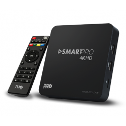 SMART BOX – SMARTPRO 4K HD PROSB-2000 - 2GB - PROELTRONIC