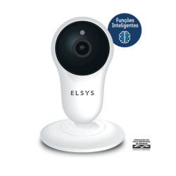 CAMERA DE SEGURANÇA WI-FI FIXA COM INTELIGENCIA DE VIDEO FULL HD ESC-WY3F ELSYS