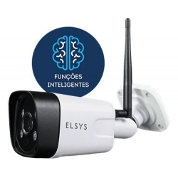 CAMERA DE SEGURANÇA WI-FI EXTERNA COM INTELIGENCIA DE VIDEO FULL HD ESC-WB3F ELSYS